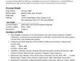 Instrumentation Engineer Resume Resume Instrumentation Engineer