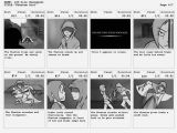 Interactive Storyboard Template 6 Animation Storyboard Templates Free Premium Templates