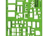 Interior Design Drafting Templates Alvin Quot Scale Interior Design Kitchen Bathroom Bedroom