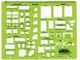 Interior Design Drafting Templates Rapidesign R 716 Interior Design Drafting Template