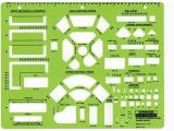 Interior Design Drafting Templates Rapidesign R 718 Interior Design Drafting Template Living