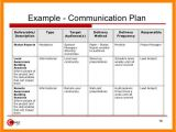 Internal Comms Strategy Template 8 Internal Communications Plan Template Emt Resume