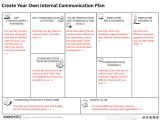 Internal Comms Strategy Template Free tool to Create Your Internal Communication Plan
