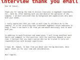 Internal Interview Thank You Email Template Internal Interview Thank You Email April 2015 Samples