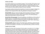 Internal Job Interview Resume Letter Of Interest for Internal Job Posting Application