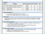 International Fresher Resume format Sample Of A Beautiful Resume format Of Mba Fresher