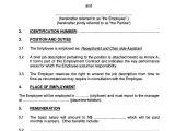 Internship Employment Contract Template 18 Employment Contract Templates Pages Google Docs