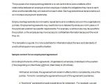 Internship Employment Contract Template 18 Job Contract Templates Word Pages Docs Free