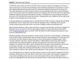 Internship Proposal Template Internship Proposal
