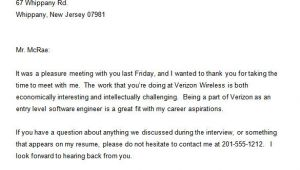 Interview Set Up Email Template 8 Thank You Email Template after Interview Doc Pdf