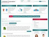 Intranet Portal Design Templates Corporate Intranet Template Free Templates Resume