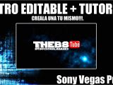 Intro Templates for sony Vegas Pro 11 Intro Editable Tutorial Creala Tu Mismo sony Vegas Pro