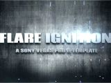 Intro Templates for sony Vegas Pro 11 Quot Flare Ignition Quot Intro Template Download sony Vegas Pro