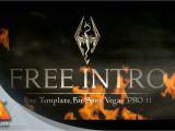 Intro Templates for sony Vegas Pro 11 Skyrim Style Intro Free Intro Template sony Vegas Pro