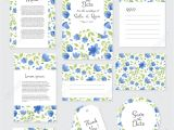 Invitation Card Design for Marriage Vector Gentle Wedding Cards Template with Flower Design Invitation