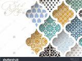 Invitation Card for Ramadan Eid Muslim Holiday Eid Al Adha Greeting Card Close Up Of