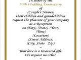 Invitation Card for Silver Jubilee Wedding Anniversary 50th Anniversary Invitation Wording