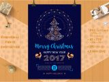 Invitation Card New Year Party Christmas Party Poster and Cards On Behance