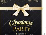 Invitation Card New Year Party Invitation Merry Christmas Party Poster Banner and Card
