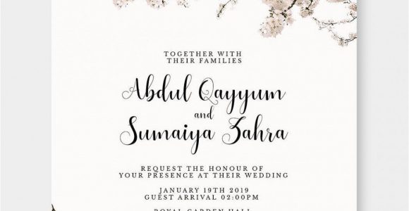 Invitation Card Quotes for Marriage Marriage Day Invitation Card Marriage Day Invitation Card