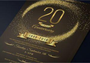 Invitation Card Size In Cm Anniversary Invitation Template Psd Size 4a 6 Inches