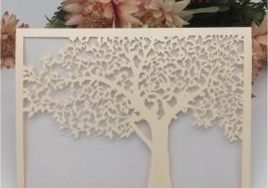 Invitation Card Size In Cm Luxury Design with Lace Big Tree Wedding Invitation Cards Apply to Grand events Happiness Activity Invitations Wedding Invitations Melbourne Art Deco