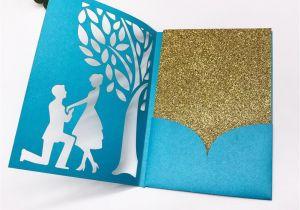 Invitation Card Size In Cm Wedding Invitation Card Bride and Groom Pattern Love Card