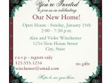 Invitation Card Wording for Wedding Paisley Open House Housewarming Party Invitation Zazzle