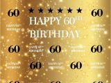 Invitation Card Yellow 60th Birthday Aofoto 6x6ft Golden 60th Birthday Background Shiny Stars Glitter Spots Customizable Bday Backdrop for Photography Adult Man Woman 60 Years Old Party