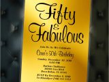 Invitation Card Yellow 60th Birthday Fifty and Fabulous Birthday Invitations 40 and Fabulous Birthday Invites Black and Gold Fifty and Fabulous Birthday Invites Printable