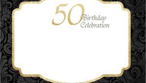 Invitation Card Yellow 60th Birthday Free Printable 50th Birthday Invitations Template 50th