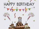 Invitation Happy Birthday Card Template Birthday Invitation Card Sets Template Stock Illustration