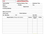 Invoice Request Email Template 9 Sample Catering Invoice Free Word Pdf format Download