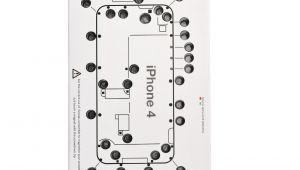 iPhone 4 Screw Template iscrews Repair Screw organiser Sheet Tray Map for iPhone 4