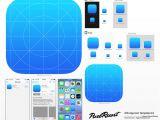 iPhone App Logo Template 11 Great Ios7 Design Resources Web Graphic Design