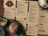Irish Menu Templates 50 Best Food Drink Menu Templates Design Shack