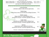 Irish Menu Templates Search Results for Template Of Week Calendar 2015