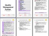 Iso 9001 Templates Free Download Example Of A Quality assurance Manual Perfect Resume format