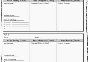 Issp Template Editable Guided Reading Template Reading In the Upper