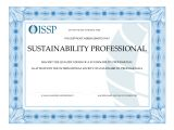 Issp Template Webinar issp Certification Educational Partners