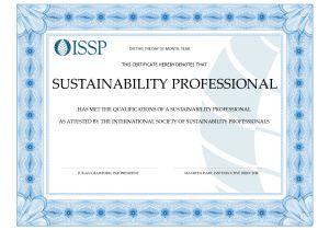 Issp Template Webinar issp Certification Educational Partners