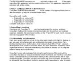 It Consultant Contract Template Sample Consulting Contract