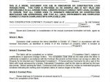 It Contractor Contract Template Construction Contract Template 14 Word Pdf Apple
