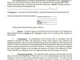 It Contractor Contract Template Sample Independent Contractor Agreement 22 Documents