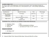 It Fresher Resume format In Word 10 Fresher Resume Templates Download Pdf