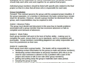 It Project Contract Template 14 Project Contract Templates Word Pdf Free