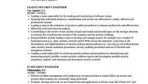 It Security Engineer Resume It Security Engineer Resume Samples Velvet Jobs