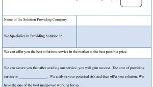 It solution Proposal Template It Proposal Template Business Proposal Templated