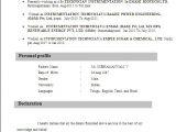 Iti Electrician Fresher Resume format Iti Student Resume format Anjinho B