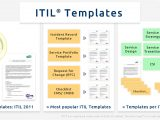 Itil Document Templates Itil Checklists It Process Wiki